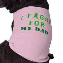 Doggie Fight For Dad Green Tee