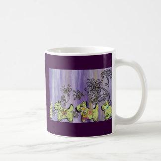 Doggie Garden Coffee Mug