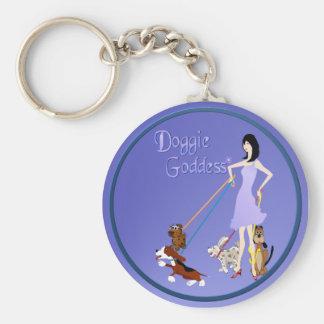 Doggie Goddess Keychain