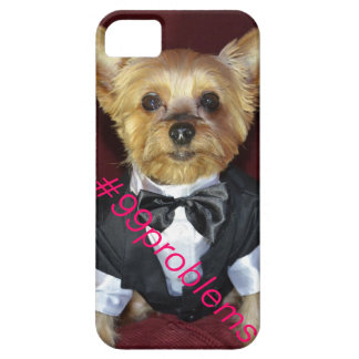 Doggie Hashtag #99problems iPhone 5/5S Case