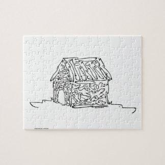 DOGGIE HOUSE JIGSAW PUZZLE