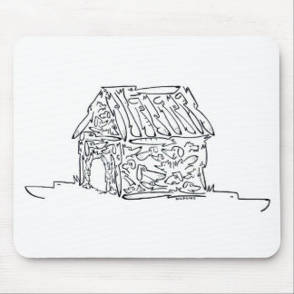 Doggie House Mousepads