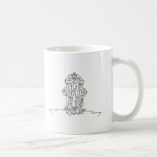 Doggie Hydrant Coffee Mug