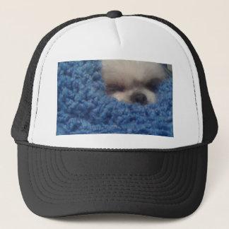Doggie in Blanket Trucker Hat