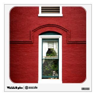 Doggie in the Window Wall Decal