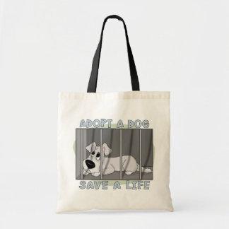Doggie Jail Tote Bag