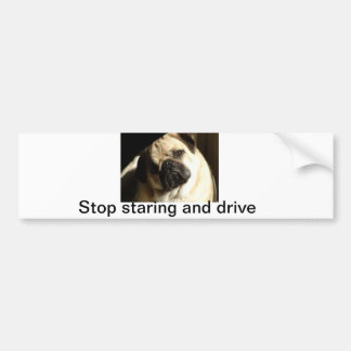 Doggie madness bumper sticker
