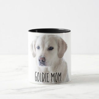 Doggie Mom  (Goldie Shown) Personalized Coffee Cup