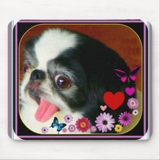 Doggie mouse mouse pad