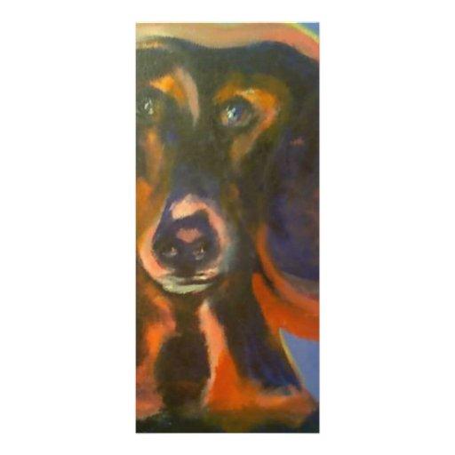 doggie custom rack card