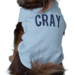 Doggie Ribbed CRAY Tank Top Doggie T Shirt