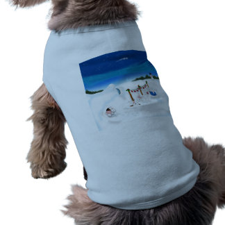 Doggie Ribbed Tank Top Doggie T-shirt
