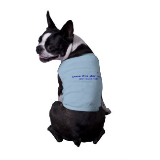Doggie Ribbed tank top with Saying Doggie T Shirt
