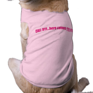 Doggie shirt..here comes trouble T-Shirt