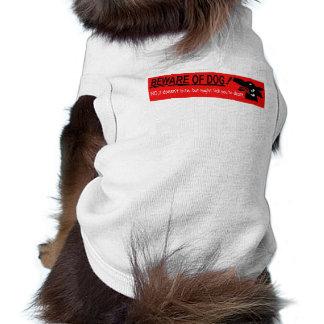 doggie slobber shirt