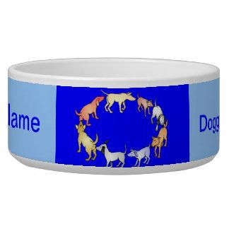 Doggie Social Circle Bowl