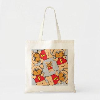 Doggie Square (Grey) Bag