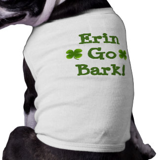 Doggie St. Patrick's Shirt sizes XS to 3X