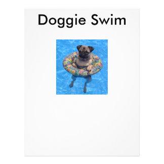 Doggie Swim Flyers