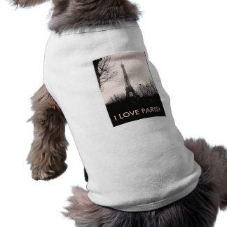Doggie T-Shirt/Eiffel Tower Tee