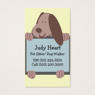 Doggie Tales/ Business Business Card