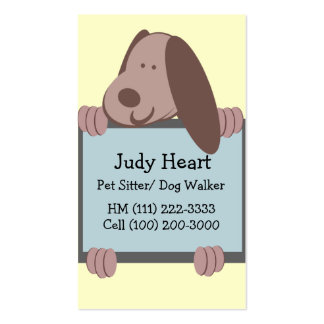 Doggie Tales Business Business Cards