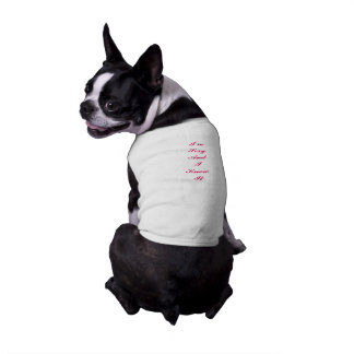 """Doggie Tee """"I'm Sexy And I Know It"""""""