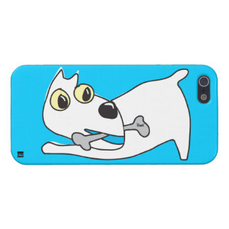 Doggie With Bone iPhone 5 Case