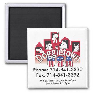 Doggietown Phone number Magnet