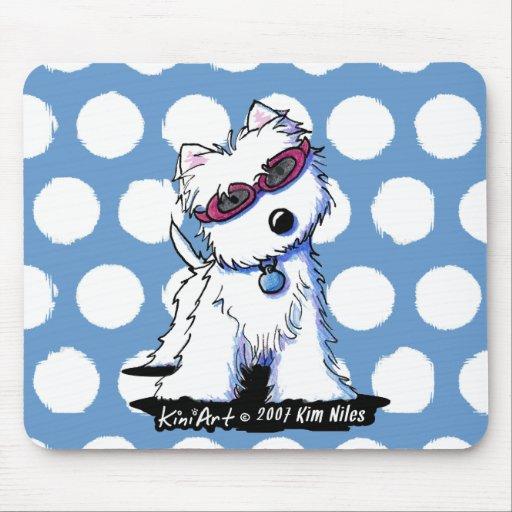 Doggles Westie Mousepad Mat