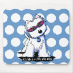 Doggles Westie Mousepad Mat Mouse Pad