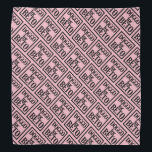 """Doggo for Beto bandanna (pink)<br><div class=""""desc"""">100% of my profits from this item will be donated to BetoForTexas.  Go Beto!</div>"""