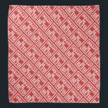 """Doggo for Beto bandanna (red)<br><div class=""""desc"""">100% of my profits from this item will be donated to BetoForTexas. Go Beto!</div>"""