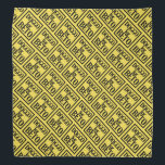 """Doggo for Beto bandanna (yellow)<br><div class=""""desc"""">100% of my profits from this item will be donated to BetoForTexas. Go Beto!</div>"""