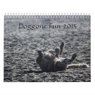 Doggone calendario impreso 2015 adorables de la