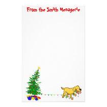 Doggone Christmas | Christmas Letterhead