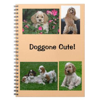 Doggone Cute notebook