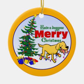 Doggone ornamento del navidad del navidad el | adornos de navidad