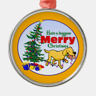 Doggone ornamento del navidad del navidad el | adorno