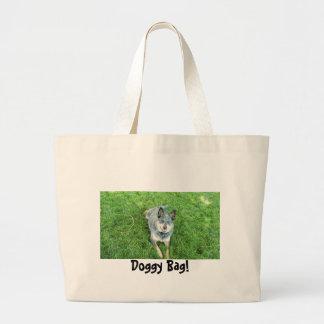 Doggy Bag! Large Tote Bag