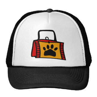 Doggy Bag With Funky Purse Trucker Hat
