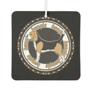 Doggy Beagle Dog Breed Air Freshener