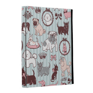 Doggy Boudoir Ipad Folio Cover by Fluff