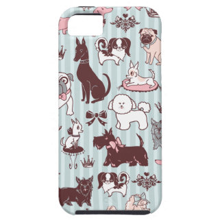 Doggy Boudoir Iphone Case by Fluff