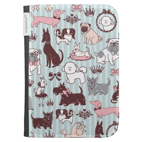 Doggy Boudoir Kindle Case by Fluff