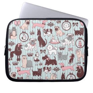 Doggy Boudoir Laptop Sleeve