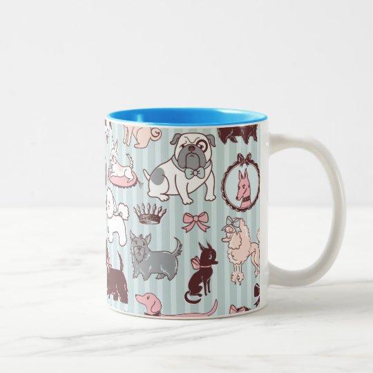 Doggy Boudoir Mug by Fluff