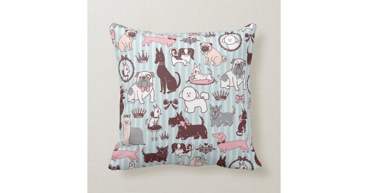 doggy boudoir pillow by fluff zazzle. Black Bedroom Furniture Sets. Home Design Ideas