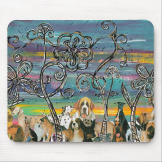 Doggy Days Mouse Pad