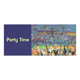 Doggy Days, Party Time Invitations